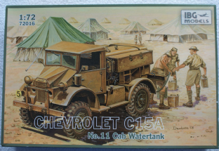 IBG Models 1/72 72016 Chevrolet C15A No.11 Cab Watertank